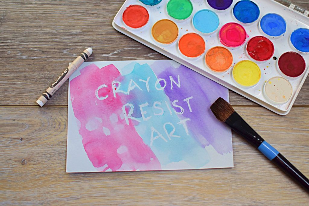 Crayon Resistant Watercolor